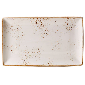 Steelite Craft Rectangular Platter White 27 x 16.75cm