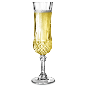 Cristal DArques Longchamp Champagne Flutes 5oz  140ml (Pack of 6)