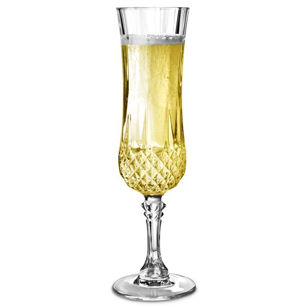 cristal d 39 arques longchamp champagne flutes 5oz 140ml drinkstuff. Black Bedroom Furniture Sets. Home Design Ideas