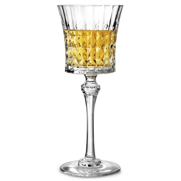 Cristal Darques Lady Diamond.Cristal D Arques Lady Diamond Wine Glasses 6 7oz 190ml Red Wine