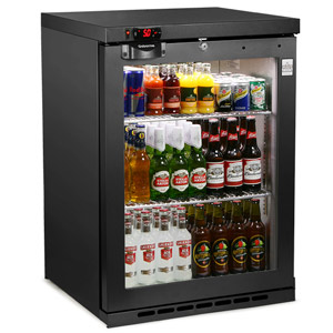 Osborne eCold 160ES Undercounter Bottle Cooler Black