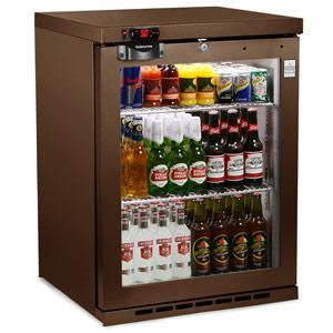 Osborne eCold 160ES Undercounter Bottle Cooler Brown