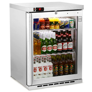 Osborne eCold 160ES Undercounter Bottle Cooler Stainless Steel