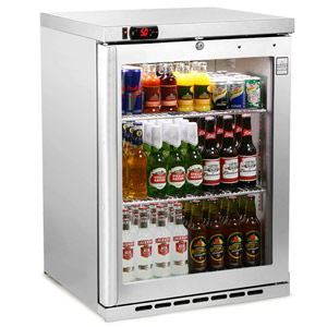 Osborne eCold 180ES Undercounter Bottle Cooler Stainless Steel