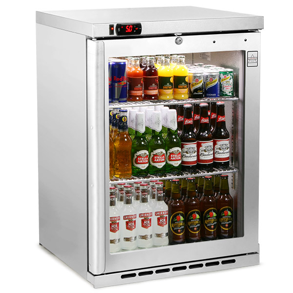 Osborne Ecold 180es Undercounter Bottle Cooler Stainless