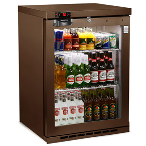 Osborne eCold 180ES Undercounter Bottle Cooler Brown