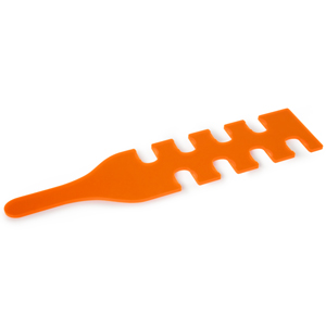 Quaffer Shot Paddle Orange