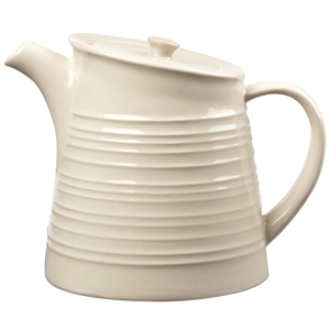 Art De Cuisine Rustics Snug Tea Pot Cream 15oz / 425ml