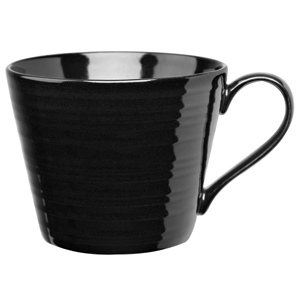 Art De Cuisine Rustics Snug Mug Black 12oz / 340ml