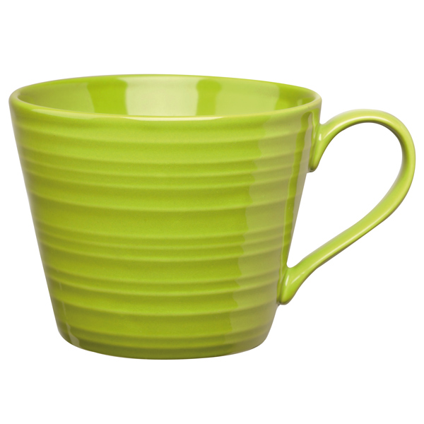Art de cuisine rustics snug mug green 12oz 340ml for Art de cuisine vitrified stoneware