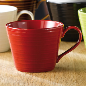 Art De Cuisine Rustics Snug Mug Red 12oz / 340ml