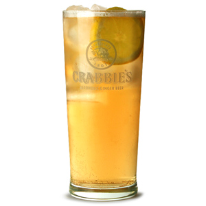 Crabbie's Alcoholic Ginger Beer Pint Glasses CE 20oz / 568ml
