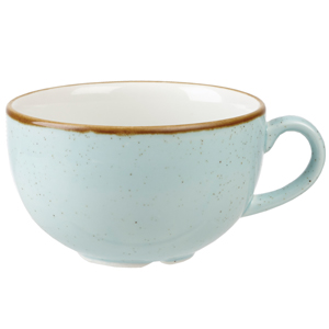 Churchill Stonecast Duck Egg Cappuccino Cup 12oz / 340ml