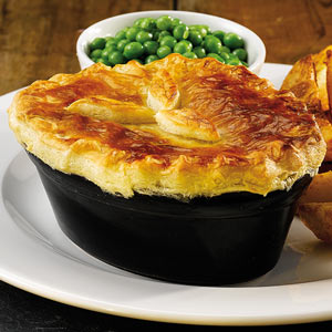 Churchill Cookware Oval Pie Dish Black 15.2 x 11.3cm