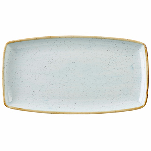 Churchill Stonecast Duck Egg Oblong Plate 29.5cm