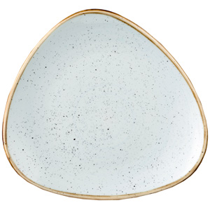 Churchill Stonecast Triangular Plate 23cm