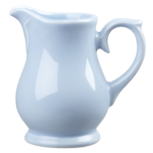 Churchill Vintage Café Milk Jug Blue 5oz / 140ml