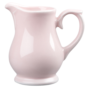 Churchill Vintage Café Milk Jug Pink 5oz / 140ml