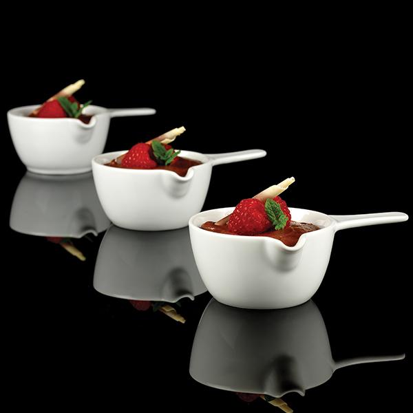 Art de cuisine menu sizzle mini sauce pan 4oz 110ml for Art and cuisine ceramic cookware