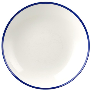 Churchill Retro Blue Coupe Bowl 9.8inch / 24.8cm
