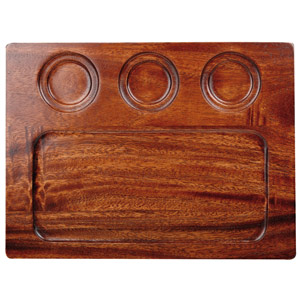Art De Cuisine Wooden Deli Board 32 x 24cm (Case of 4)