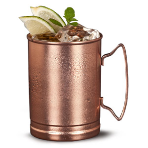 Moscow Mule Straight Copper Cup 14.5oz / 414ml